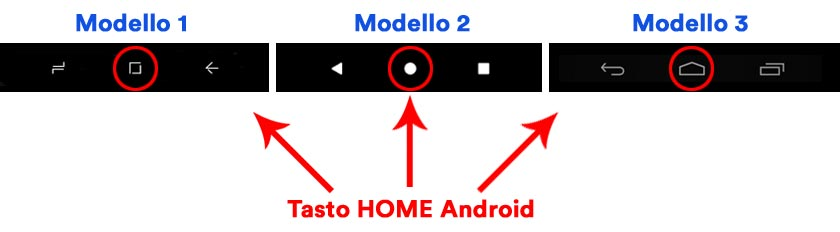 tasto home android