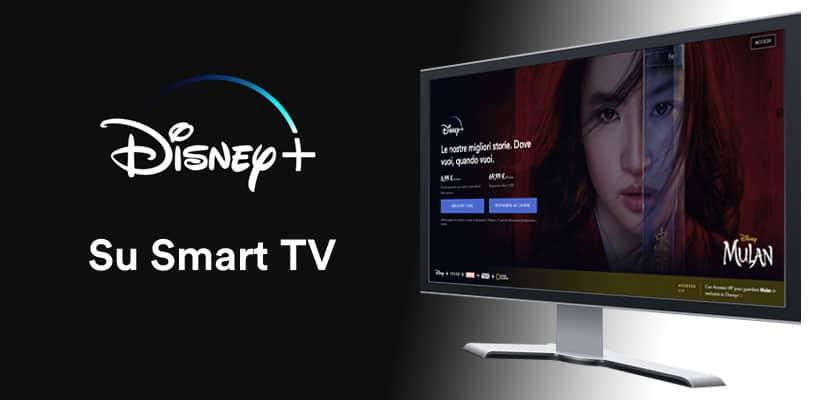 Disney Plus su Smart Tv