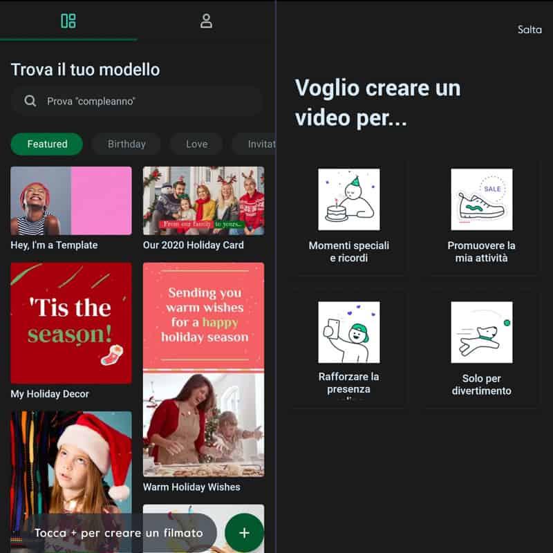 app per creare video Magisto