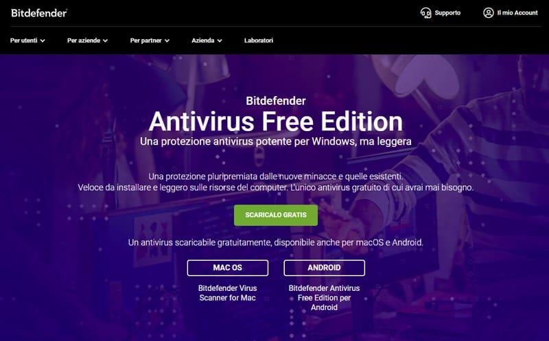 bitdefender free edition antivirus 2020