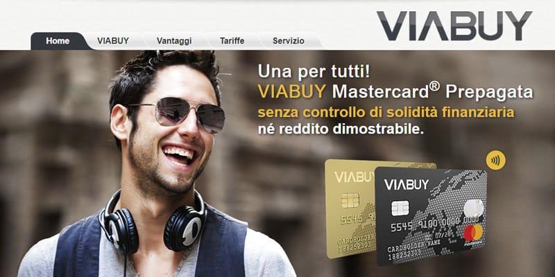 carta prepagata viabuy mastercard